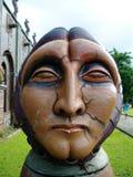 Estatua el mirar fijamente Foto de archivo