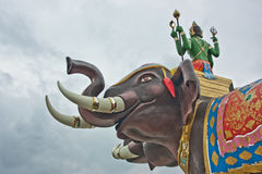 Estatua, elefante Imagen de archivo libre de regalías
