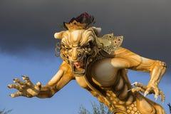 Estatua en Bali, Indonesia de Ogoh-ogoh Imagen de archivo