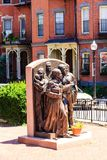 Estatua en Boston Fotografía de archivo