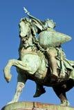 Estatua en Bruselas Imagen de archivo libre de regalías
