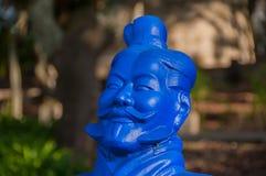 Estatua en Budha Eden Park, en Portugal foto de archivo