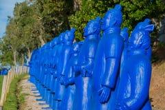 Estatua en Budha Eden Park, en Portugal imagen de archivo libre de regalías