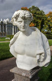 Estatua en Catherine Park Foto de archivo