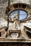 Estatua en Dubrovnik Fotografía de archivo