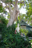 Estatua en el bosque, Tailandia Fotografía de archivo