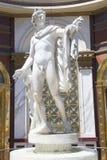 Estatua en el hotel y el casino de Las Vegas del Caesars Palace Imagen de archivo