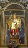 Estatua en el monasterio de San Miguel, Lliria, España Imagenes de archivo