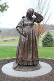 Estatua en el PA de Gettysburg Fotos de archivo libres de regalías