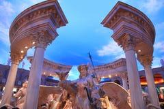 Estatua en el palacio de Caesars Imágenes de archivo libres de regalías