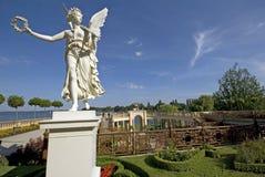 Estatua en el parque de Schwerin Fotos de archivo libres de regalías