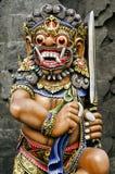 Estatua en el templo bali Indonesia Fotografía de archivo libre de regalías