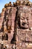 Estatua en el templo de Bayon fotos de archivo libres de regalías