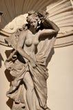 Estatua en el zwinger, Dresden Imagenes de archivo