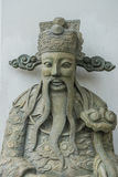 Estatua en estilo chino en Wat Pho Kaew, Bangkok, Tailandia Imagenes de archivo