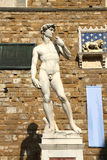 Estatua en Florencia Fotografía de archivo libre de regalías
