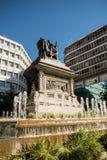 Estatua en Granada, España Fotografía de archivo libre de regalías