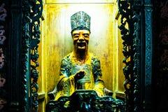 Estatua en Jade Emperor Pagoda, Ho Chi Minh City, Vietnam imágenes de archivo libres de regalías