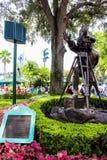 Estatua en los estudios de Hollywood, Orlando de los directores Foto de archivo libre de regalías