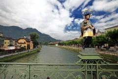 Estatua en mán Ischl, Austria de Jesús Fotos de archivo