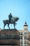 Estatua en Montevideo, Uruguay Fotografía de archivo