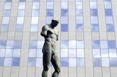Estatua en París Fotografía de archivo