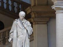 Estatua en Pinacoteca di Brera Foto de archivo libre de regalías