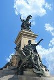 Estatua en Venecia Fotografía de archivo