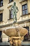 Estatua en wroclaw Fotos de archivo libres de regalías