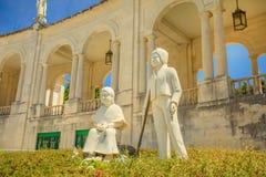 Estatua Fátima de los pastores Foto de archivo libre de regalías