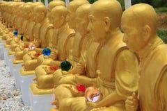 Estatua famosa de los monjes Imágenes de archivo libres de regalías