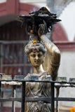 Estatua femenina Imágenes de archivo libres de regalías