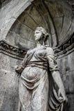Estatua femenina Imagen de archivo libre de regalías