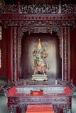 Estatua femenina china de dios Fotos de archivo