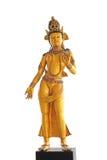 Estatua femenina de dios imagen de archivo