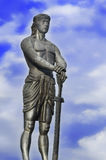 Estatua gigante de Lapu-Lapu Imagen de archivo libre de regalías