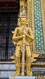 Estatua gigante en estilo tailandés Foto de archivo libre de regalías