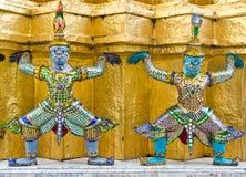 Estatua gigante en estilo tailandés Imagen de archivo libre de regalías