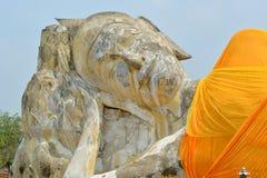 Estatua grande Buda del primer Foto de archivo