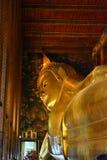 Estatua grande de Buda en Wat Pho Bangkok Fotos de archivo
