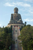 Estatua grande de Buddha Imagenes de archivo