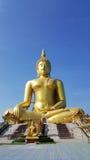 Estatua grande de buddha en Tailandia Fotos de archivo libres de regalías