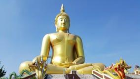 Estatua grande de buddha en Tailandia Imagen de archivo libre de regalías