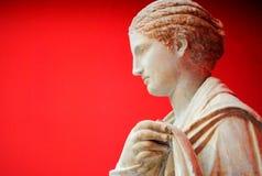 Estatua griega Imagen de archivo libre de regalías