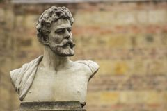 Estatua griega Bogotá Colombia de la escultura foto de archivo