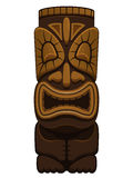 Estatua hawaiana de Tiki Imagen de archivo