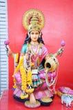 Estatua hermosa de Lakshmi Foto de archivo