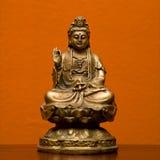 Estatua hindú. Imagen de archivo