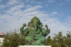 Estatua hindú de dios de Ganesha Fotos de archivo