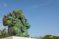 Estatua hindú de dios de Ganesha Fotos de archivo libres de regalías